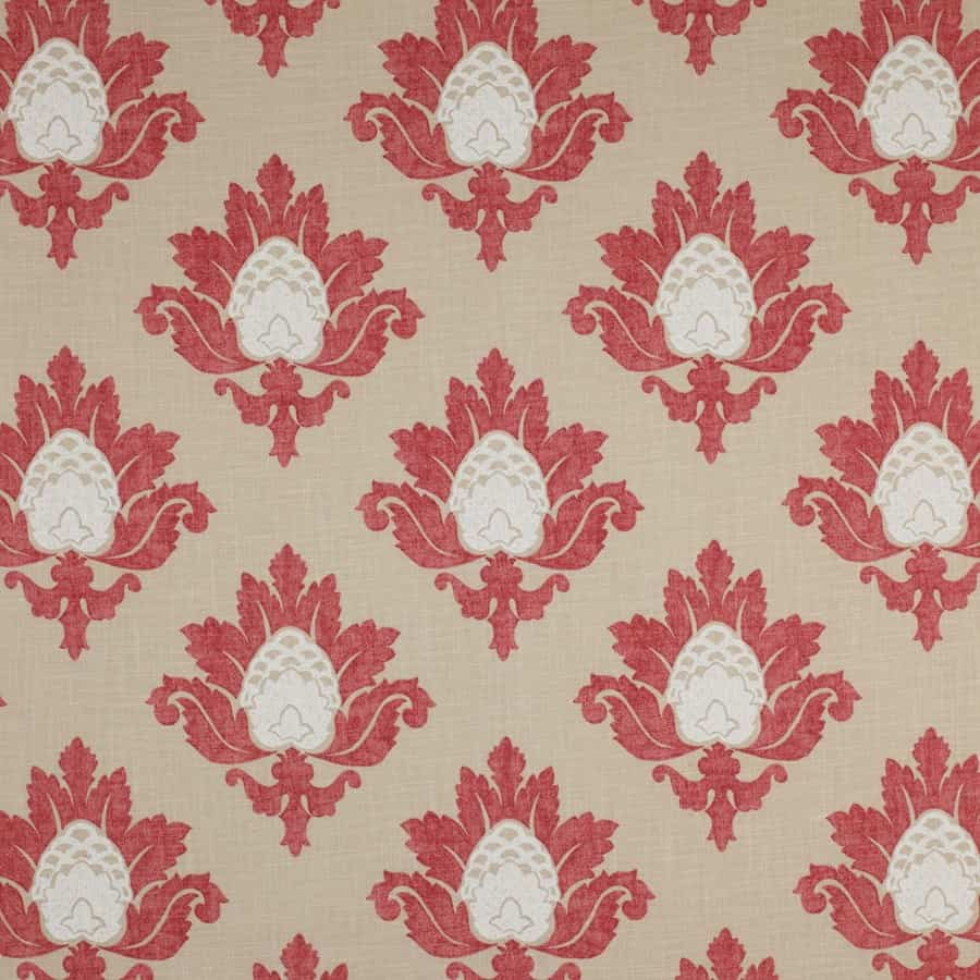 Bruton Damask fabric from Jane Churchill