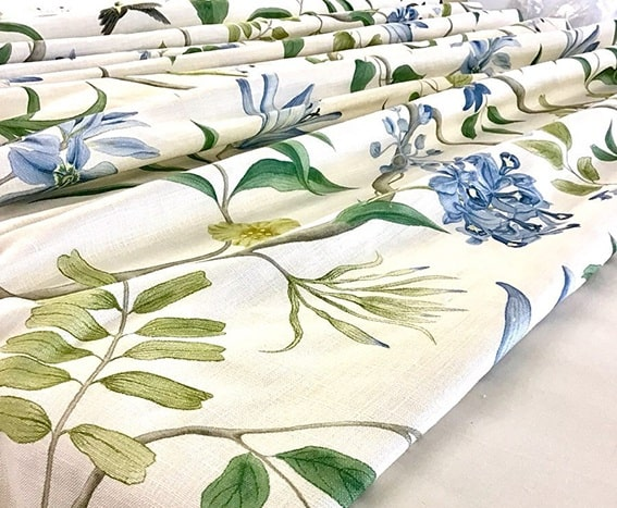Clementine fabric from Sanderson