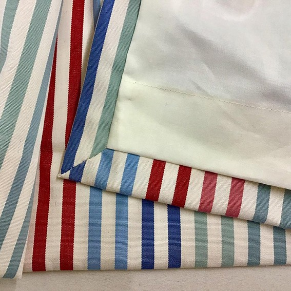 Multi Stripe fabric from Ian Mankin